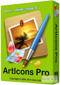 Aha-Soft ArtIcons Pro 5.45 RePack by KpoJIuK