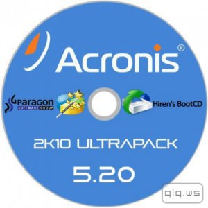 Acronis 2k10 UltraPack 5.20