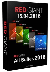 Red Giant All Suites 2016 CS5 - CC 2015 (15.04.2016)