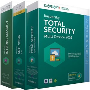 Kaspersky Anti-Virus / Internet / Total Security 2017 17.0.0.611 Final ENG/RUS